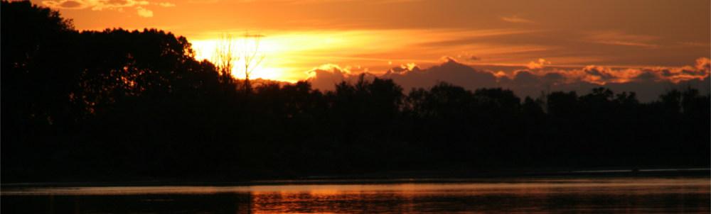 Sonnen Untergang am Via Francigena - Bolsena See